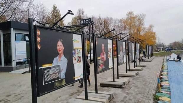 Новая фотовыставка открылась в парке «Ангарские пруды»
