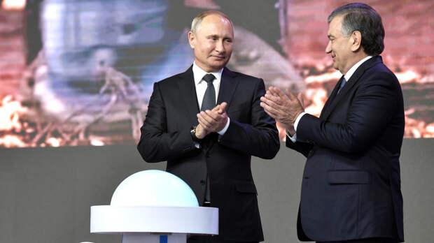 """Путин и Мирзиеев скоординировали производство """"Спутника V"""" в Узбекистане"""