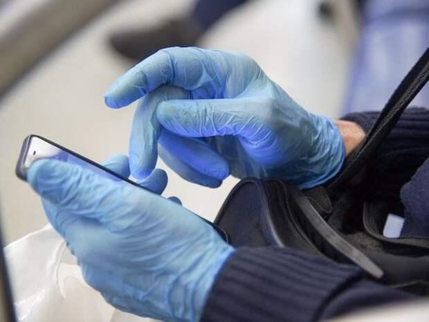 Власти Москвы опровергли данные о том, что носить перчатки в городском транспорте необязательно