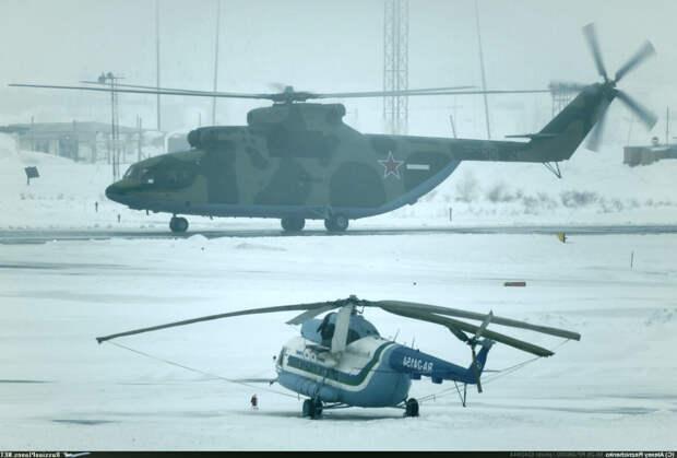 Ми-26. Самый большой транспортный вертолет в мире. Как создавался.