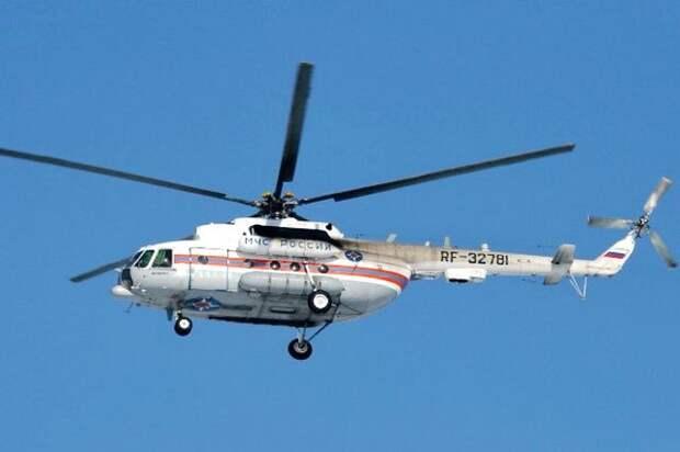 На Камчатке потеряли связь с вертолетом Ми-8