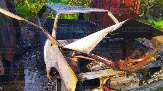 Компания детей дотла сожгла пожарную часть в Ленобласти