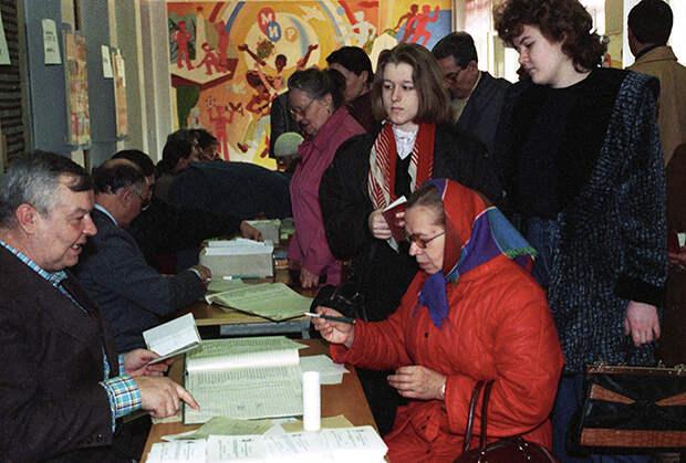 Всероссийский референдум 25 апреля 1993 года