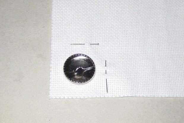 Вышитые пуговицы вместо брошки (Diy)
