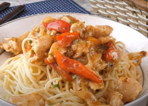 Куриное рагу с овощами: вкусное блюдо к обеду