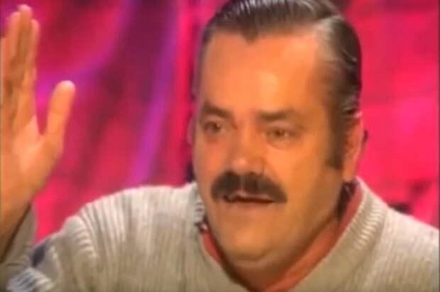 Умер герой мема про «хохочущего испанца» Хуан Борха