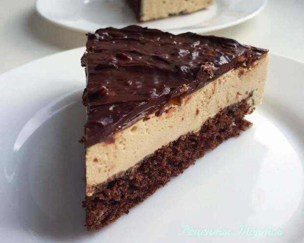 ШOКOЛAДНO-КOФEЙНЫЙ торт