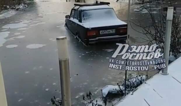 Режим повышенной готовности ввели в Азовском районе из-за подтоплений