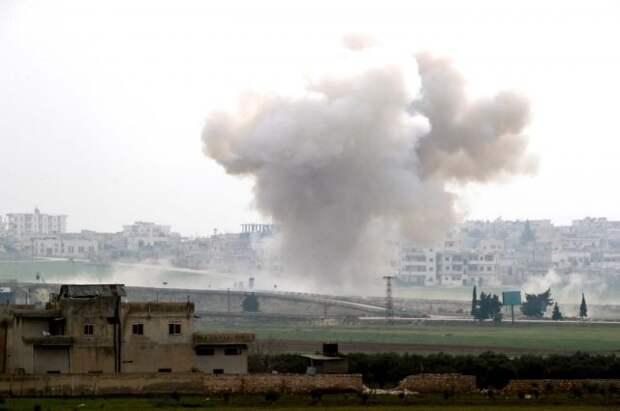 Минобороны сообщило о росте числа обстрелов террористами в Идлибе