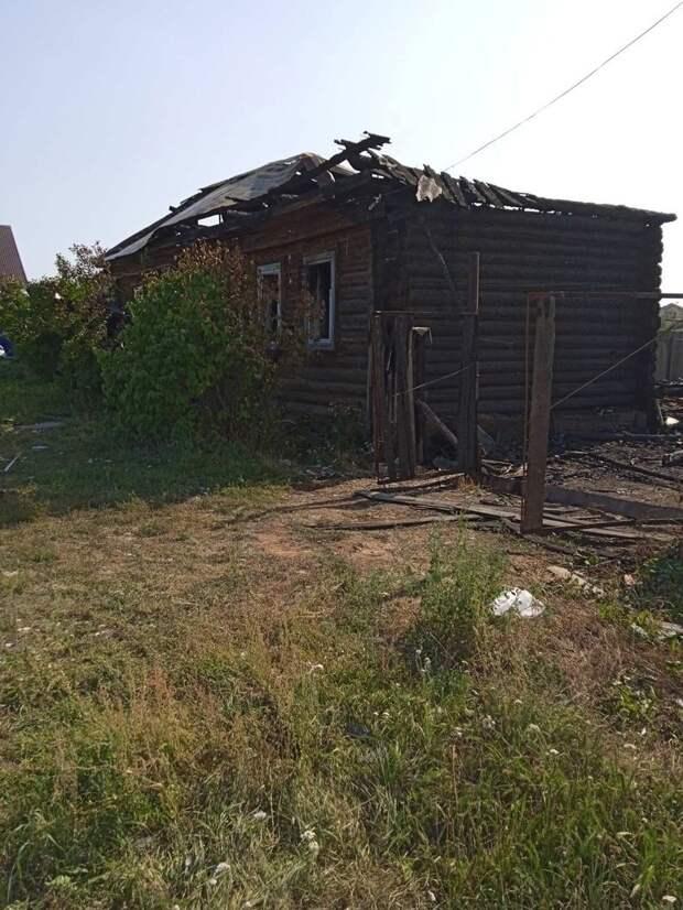В Воткинском районе пострадавшим от пожара нужна помощь