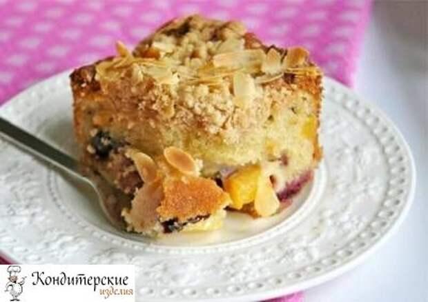 Бакл Buckle - американский летний фруктовый пирог
