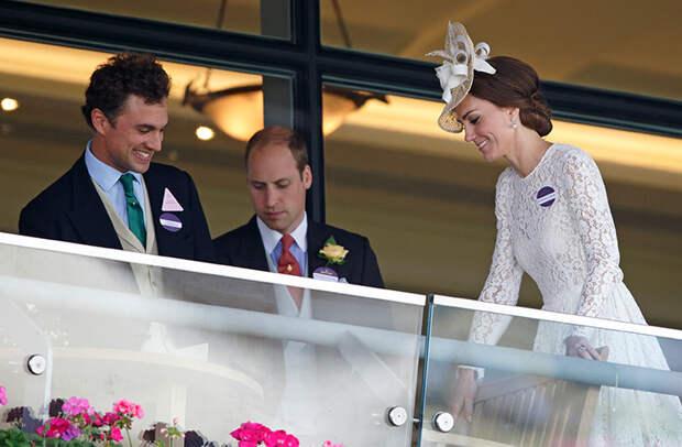 Близкий друг принца Уильяма женился на учительнице принцессы Шарлотты