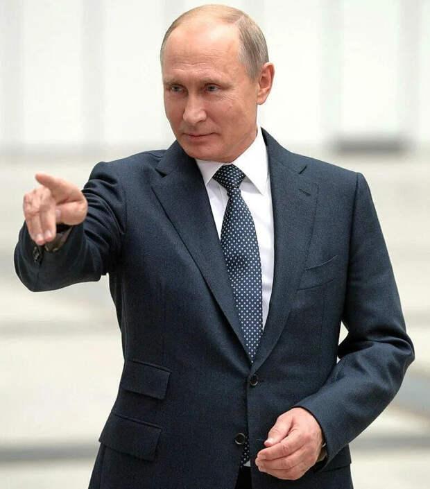 В. Путин знает, куда идет