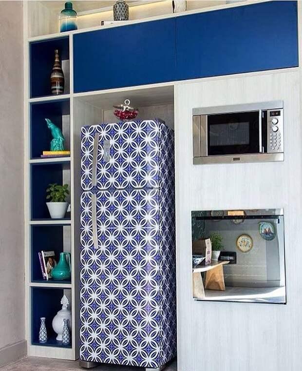 Идеи обновления старого холодильника своими руками