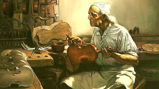В квартире умершей женщины под Тулой наследник нашел скрипку Страдивари