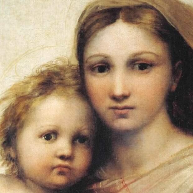 9 секретов, которые таит в себе «Сикстинская Мадонна» гениального Рафаэля.