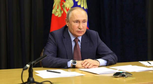 Владимир Путин рассказал о вызванных пандемией изменениях в экономике страны
