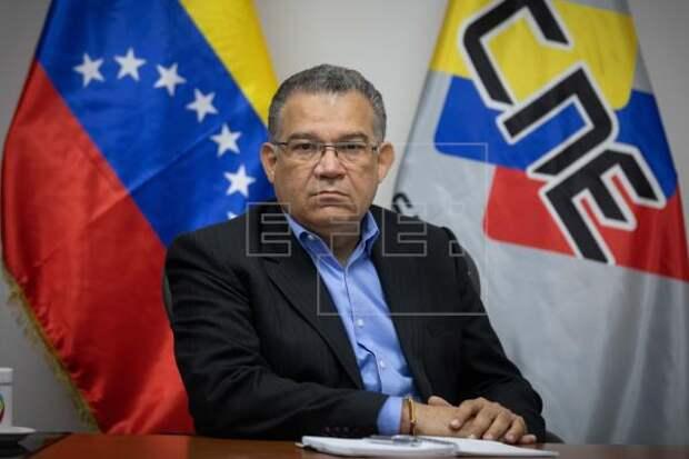 VENEZUELA ELECCIONES - Rector electoral venezolano busca levantar las inhabilitaciones de opositores