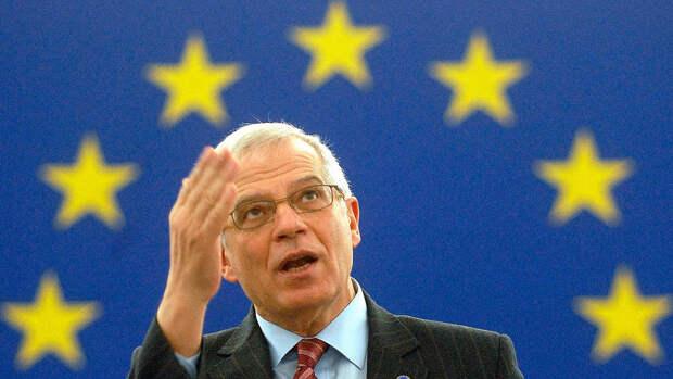 Глава дипломатии ЕС Боррель заявил о решении не обострять отношения с Россией