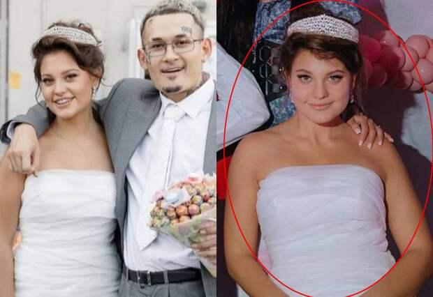 В СМИ попало фото жены Моргенштерна без фотошопа