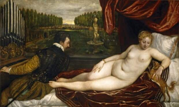 художник Тициан Вечеллио (Tiziano Vecellio) картины – 21