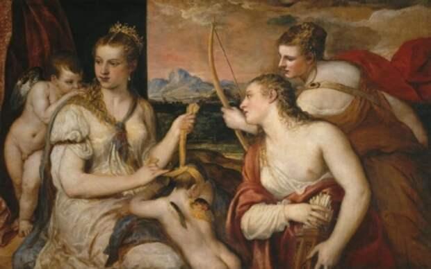 художник Тициан Вечеллио (Tiziano Vecellio) картины – 07