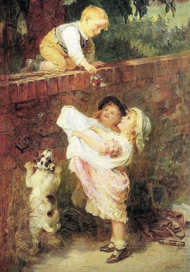 художник Фредерик Морган (Frederick Morgan) картины – 37