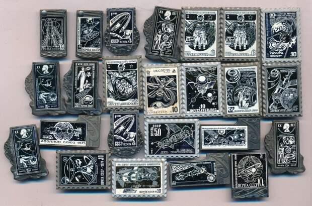 Завод особенно гордился коллекцией Космос / Фото: auction.conros.ru