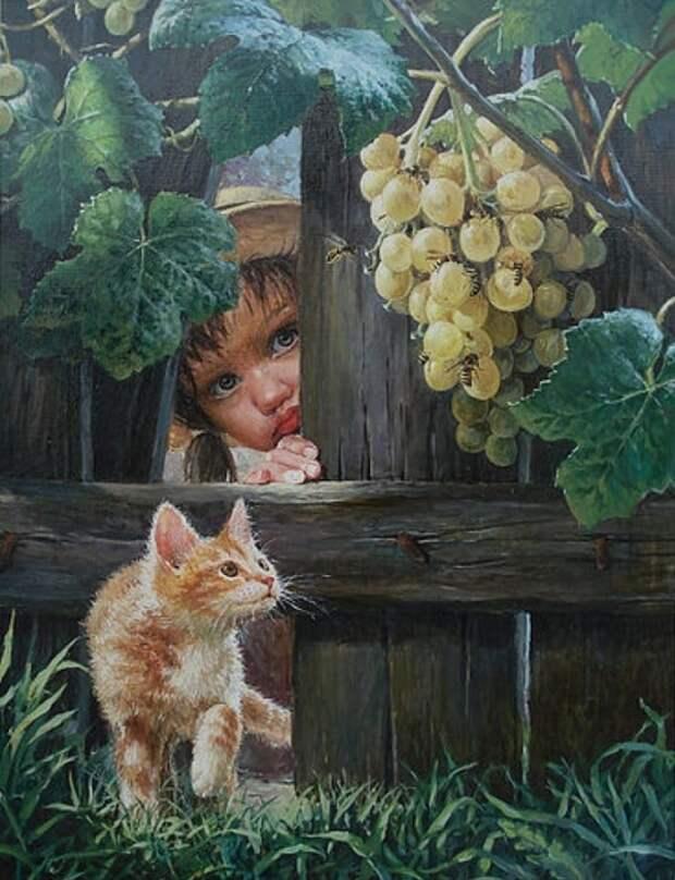 Художник Владислав Леонович. Я нарисую вам счастье