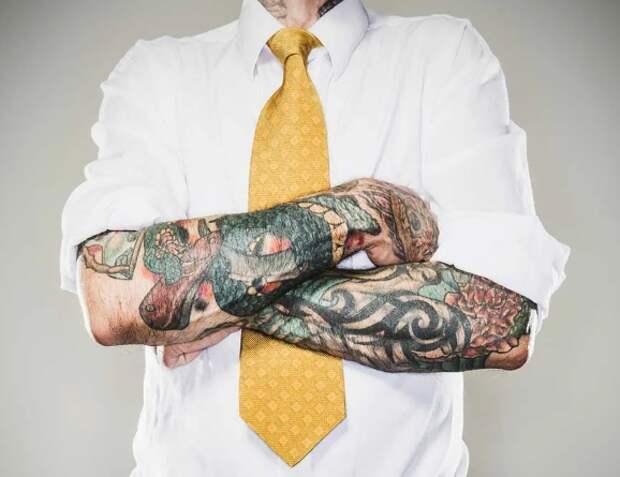 Почему я не беру на работу людей с татуировками