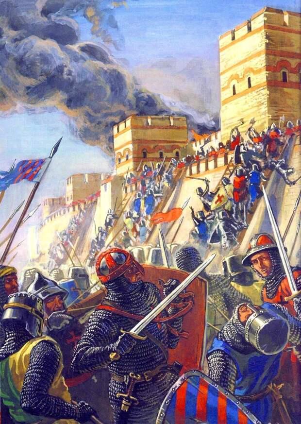 Древнерусский источник о взятии Константинополя крестоносцами (13 апреля 1204 года)