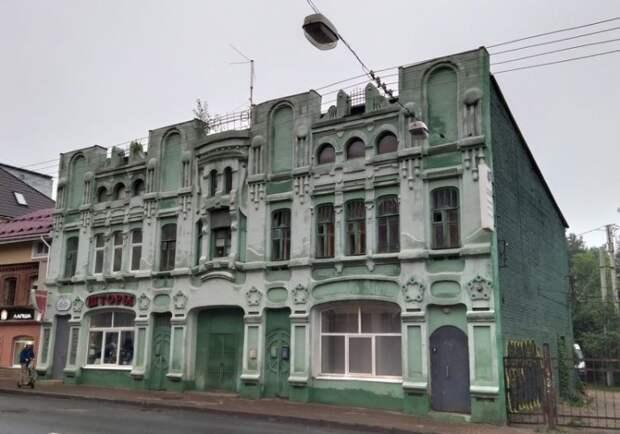 Как крестьянин из Нижнего Новгорода смог построить помпезный дом в стиле модерн