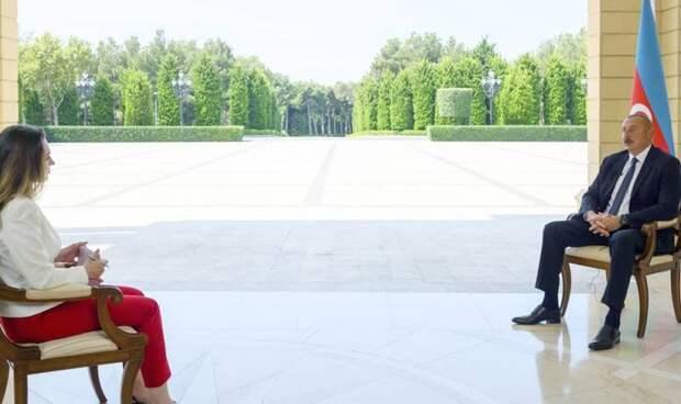 Алиев выступил против продажи Армении российского оружия