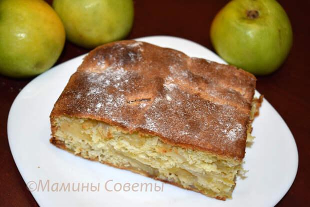 Шарлотка с яблоками: рецепт изумительной домашней выпечки!