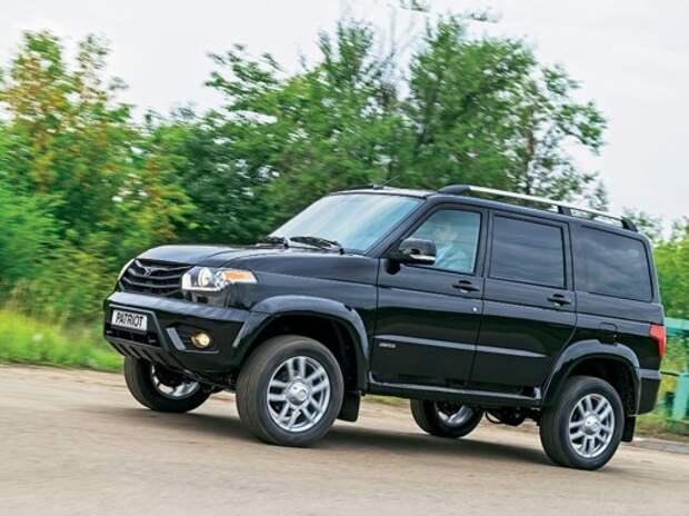 Половина продаж УАЗа в январе пришлась на модель Patriot