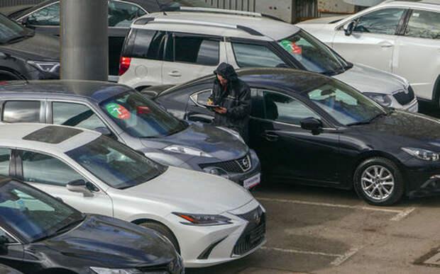 В России вырос спрос на подержанные автомобили с дизелем