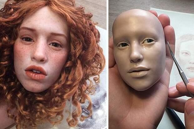 Авторские куклы Михаила Зайкова. Так реалистично, даже немного жутковато!