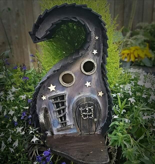 Необычные скворечники для сада