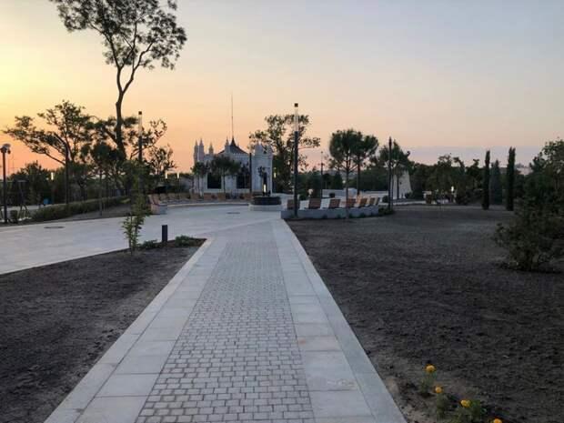 Появились фотографии Матросского бульвара после реконструкции