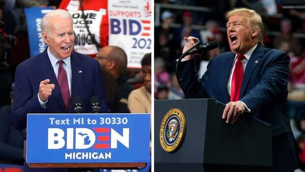 Трамп сократил отставание от Байдена в предвыборной гонке