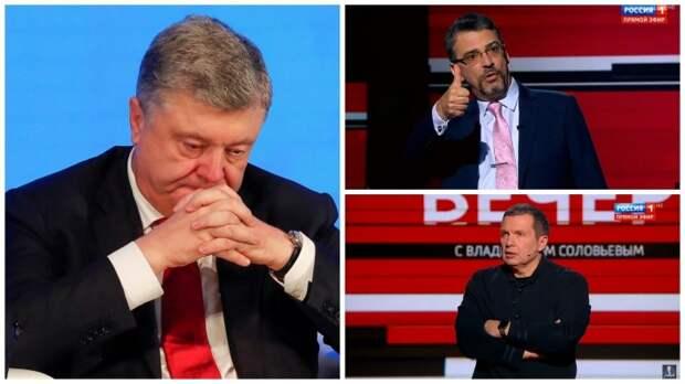 """""""Почему Запад узнал себя, а не Порошенко?"""": Соловьев ответил Коэну о """"подхрюкивающих"""" сателлитах США"""