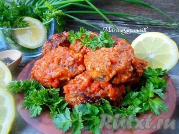 Рецепт хека в томатном соусе