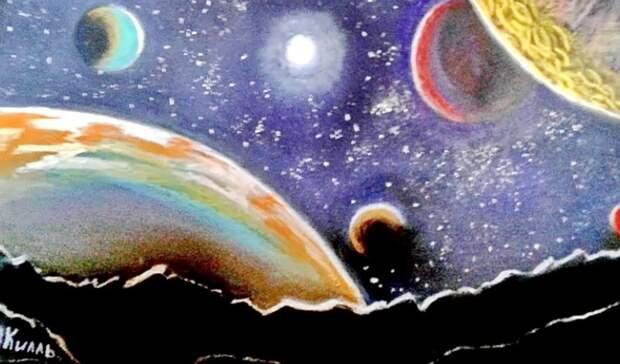 В Оренбурге ко Дню космонавтики откроется уникальная художественная выставка