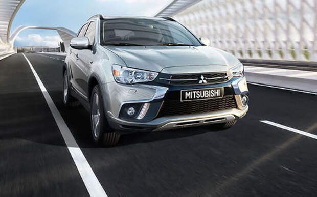 Обновленный кроссовер Mitsubishi ASX: названы рублевые цены