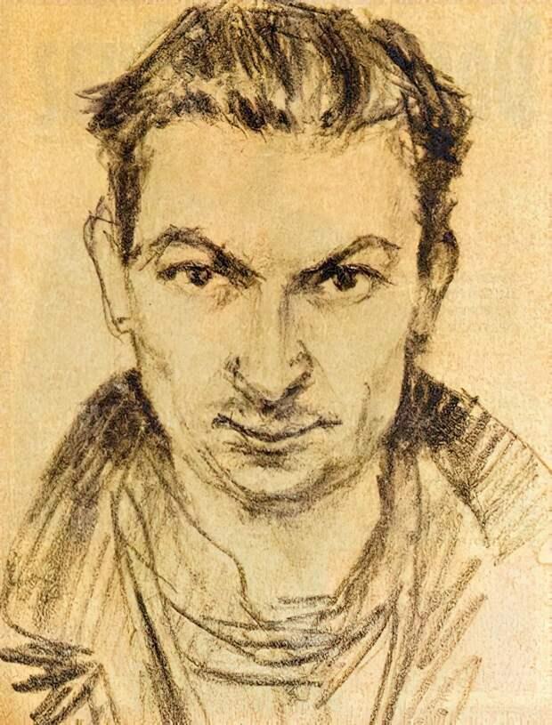 Георгий Вицин. Автопортрет