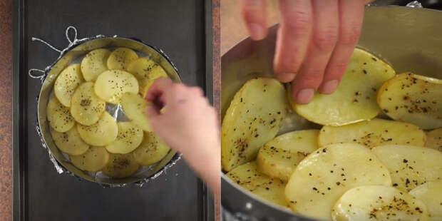 простой рецепт запеченного картофеля