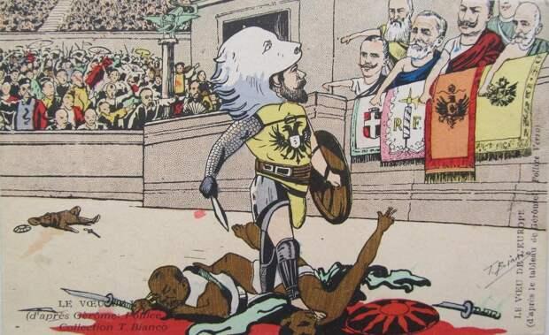 Французские карикатуры в период русско-японской войны