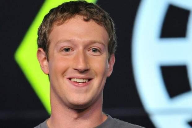 Фотограф «разукрасил» лицо Марка Цукерберга