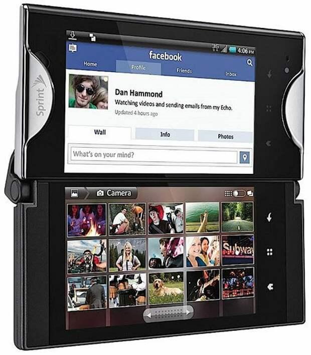 Kyocera Echo. Источник изображения: joyofandroid.com
