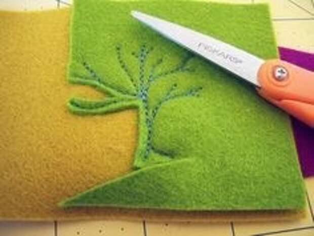 Вышивка + фетр. Идеи для творчества.